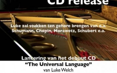 CD release Luke Welch – The Universal Language